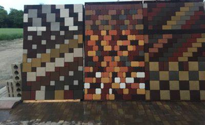 Витрина тротуарной плитки в Краснодаре от производителя