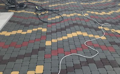 Фото варианта укладки тротуарной плитки Старый город
