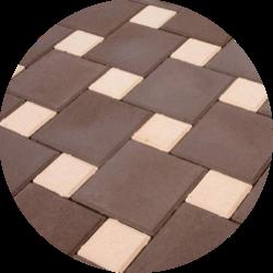 Тротуарная плитка квадрат в Краснодаре